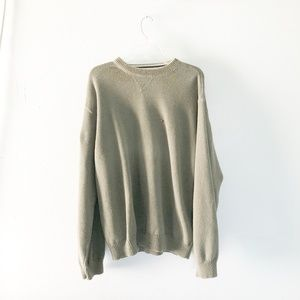 Tommy Hilfiger | Sage Green Knit Sweater XL